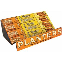 Planter's Peanuts Tin Litho Store Display Stand