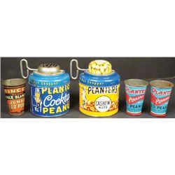 Collection of Planters Peanut Items