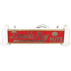 Double Kay Toasted Nuts Neon, Shelf, Light Up Sign