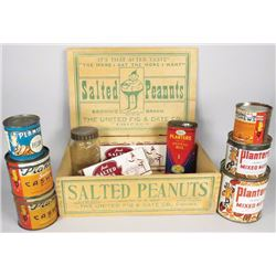 Collection of Country Store Salted Peanut Items