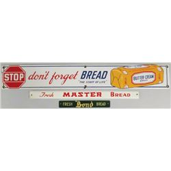 Three Bread Strip Signs