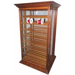 A.N. Russell & Sons Oak Ribbon Cabinet