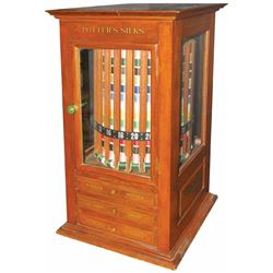 Potter's Silks Revolving Spool Cabinet