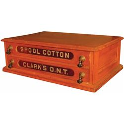 Clarks ONT Two Drawer Spool Cabinet