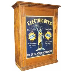 Electric Dyes Tin Front Dye Cabinet