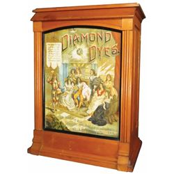 "Diamond Dyes ""Court Jester"" Dye Cabinet"