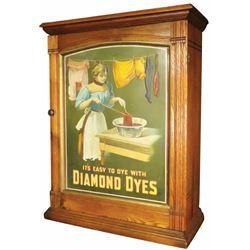 """Diamond Dyes """"Washer Woman"""" Dye Cabinet"""