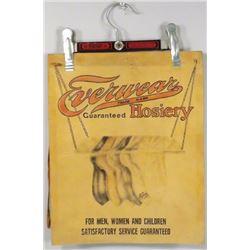 Everwear Hosiery Embossed Leather Sign