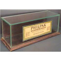 Philipak Handkerchiefs Store Display Case