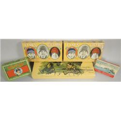 Collection of Millinery Product Boxes