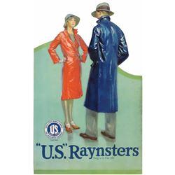 U.S. Raynsters Die Cut Cardboard Sign