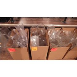 3 CASES OF PLASTIC BEER & WATER PITCHERS