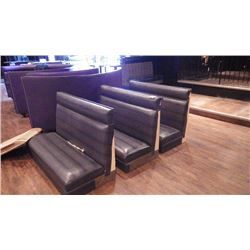3 BOOTHS / BENCHES