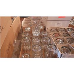 7 CASES OF VARIOUS BAR GLASSES