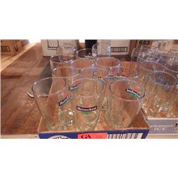 12 TRAYS OF VARIOUS BAR GLASSES