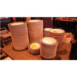 44 DINNER / LUNCHEON PLATES, SOUP BOWLS, AND VARIOUS PLATES AND OTHER BOWLS