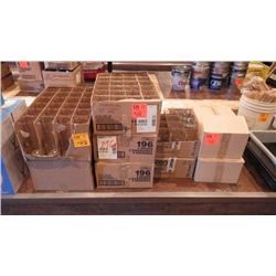 9 CASES OF VARIOUS BAR GLASSES