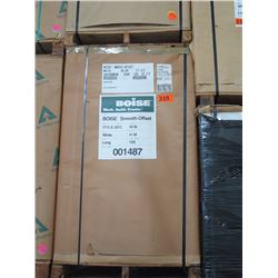 BOISE 17.5X22.5 WHITE COMMERCIAL PRINTING PAPER 41M BS50 SMOOTH OFFSET SK - ENTIRE PALLET