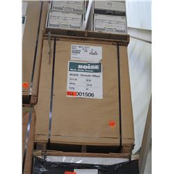 BOISE 25X38 WHITE COMMERCIAL PRINTING PAPER 120M BS60 SMOOTH OFFSET 21M/SK - ENTIRE PALLET