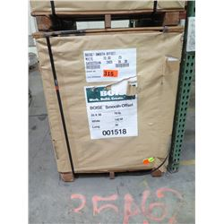 BOISE 25X38 WHITE COMMERCIAL PRINTING PAPER 140M BS70  SMOOTH OFFSET 18M/SK - ENTIRE PALLET