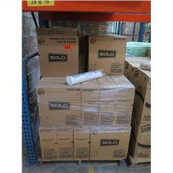 32 CASES: 10OZ WHITE PLASTIC LIDS FOR CUPS - TRAVELER LID 1M/CS TL31R2-0007