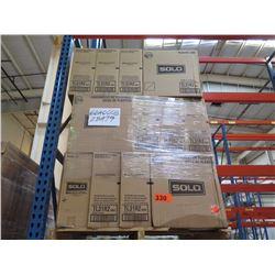 36 CASES: 10OZ WHITE PLASTIC LIDS FOR CUPS - TRAVELER LID 1M/CS TL31R2-0007