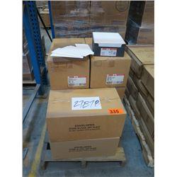 8 CASES: #10 ENVELOPES - BRILLIANT WHT PEGASUS -500 per box (1500 per case)