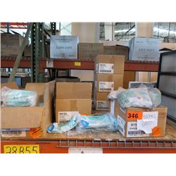 APPROX. 350 NITRILE GREEN GLOVES - VARIOUS SIZES (approx. 5 cases)