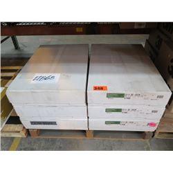 23X35 WHITE EVERGREEN MATTE COVER 57488 - 6 cases - 800 sheets per case