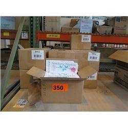 10 BOXES: SANITARY NAPKIN BAGS - 1000 PER BOX