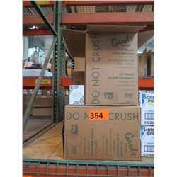 4 BOXES: GARDS MAXI PADS - 250 PER BOX