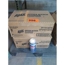 2 CASES AJAX CLEANSER WITH BLEACH 21-0Z POWDER - 24 PER CASE