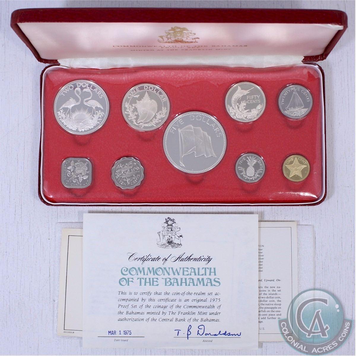1975 Australian 6 Coin Proof Set Original Brand New Condition