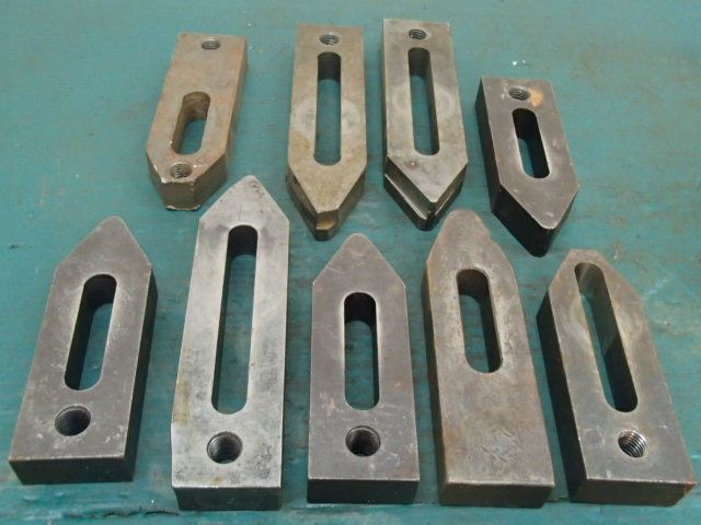 Lot of Setup Hold Down Clamps, 9 Total