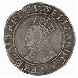 Great Britain (England) Elizabeth Shilling, Sixth Issue 1582-1584, Fine/Very Fine