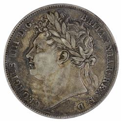 Great Britain George IIII 1823 Halfcrown, Extremely Fine