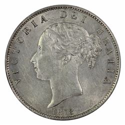 Great Britain Victoria 1878 Half Crown, Virtually Uncirculated