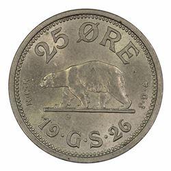 Greenland 1926 2 Ore,