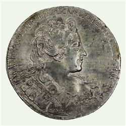 Russia 1731 Rouble, Virtually Uncirculated