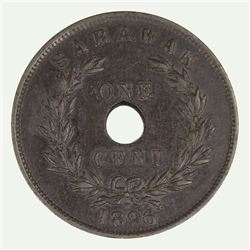 Sarawak 1896 H Cent, good Extremely Fine
