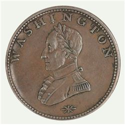 USA Washington Double-Head Cent (ND) circa late 1700s