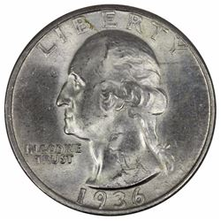 USA 1936 S Quarter, Choice Uncirculated