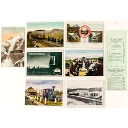 Alaska Railroad Postcards and Tickets