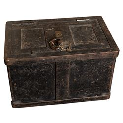 Strongbox w/ Key (Possibly Railway Express Agency)