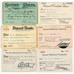 """Sunset"" Railway Pass Collection"