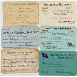 Alaska Railroad & Steamer Pass Collection