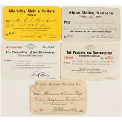 Arizona Railroad Pass Collection