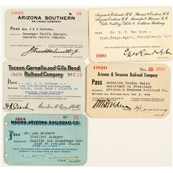 Arizona Railroad Pass Collection 2