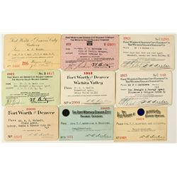 Fort Worth & Denver City Railway Co. Pass Collection