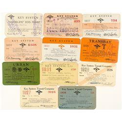Key System Transit Pass Collection